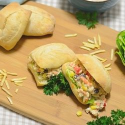 Brazilian-Style Chicken Salad Sandwiches | It's a Matter of Taste | P ...