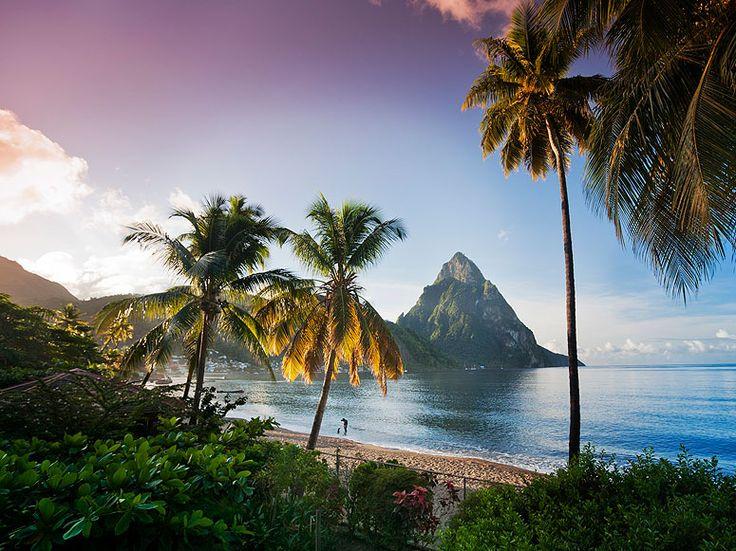 Seaside in St. Lucia. #caribbean