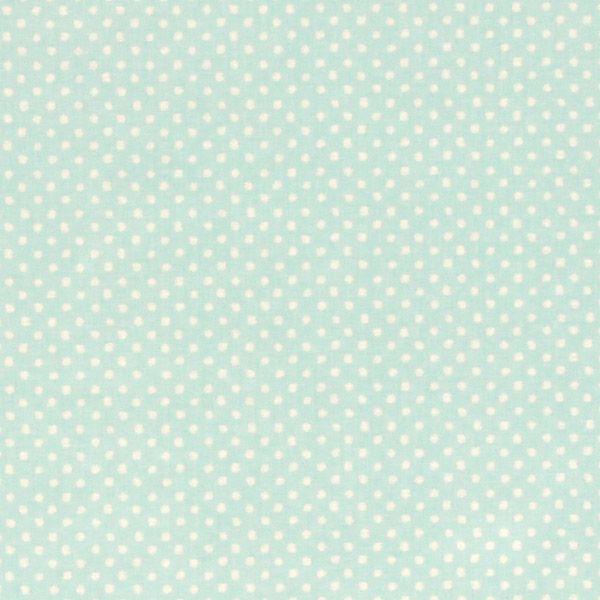 Mintgroen met stip stof  Babykamer  Pinterest