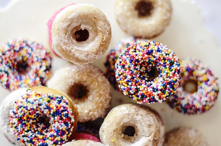 Buttermilk Mini Cake Doughnuts | Recipes | Pinterest