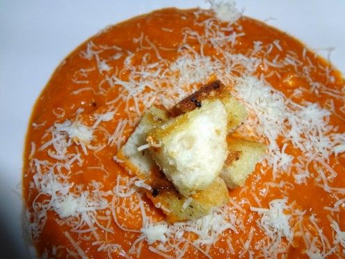Homemade Tomato Soup (all ingredients were free except for a little ...