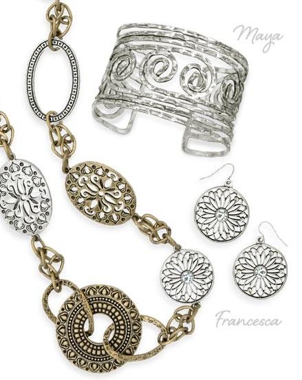 Quotmayaquot and quotfrancescaquot premier designs jewelry for Premier designs jewelry images