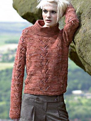 FREE Sweater Pattern Knitting for Women Pinterest