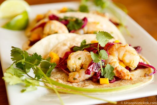 clutches handbags Grilled Shrimp Tacos with Spicy Mango Slaw  Recipe