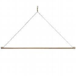 Wood Dowel Banner Hanger | For the Home | Pinterest