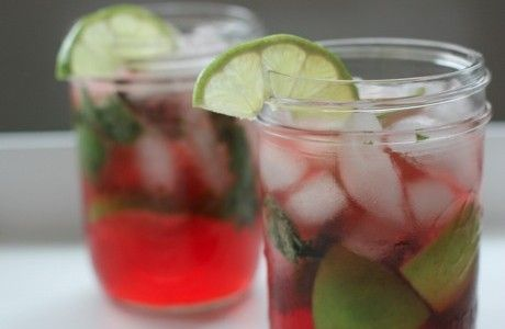pomegranate_mojito | Cool Cocktails! | Pinterest