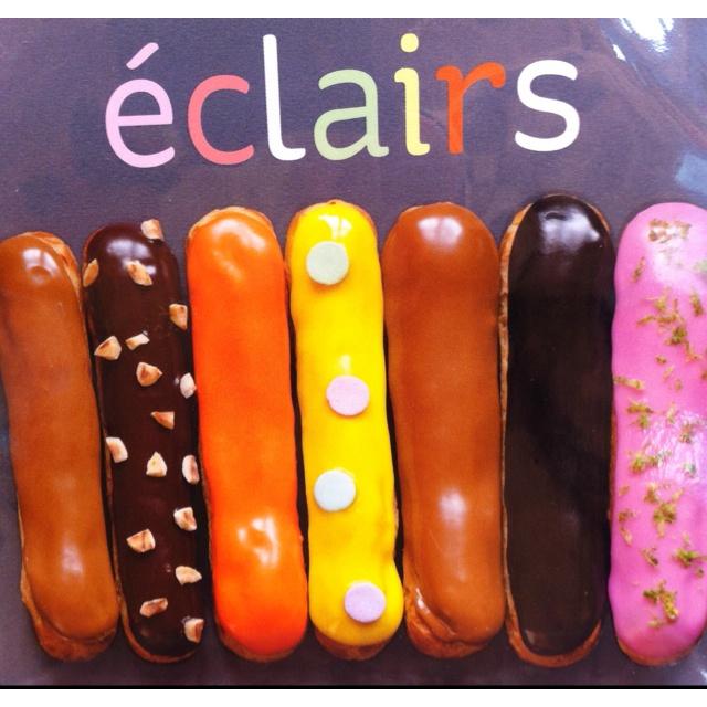 Eclairs | Baking: pate a choux | Pinterest