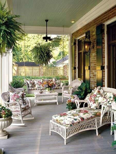 Southern porch home decorating pinterest Southern home decor on pinterest