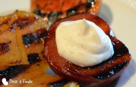 Grilled Stone Fruit | Meatless Monday Bloggers | Pinterest