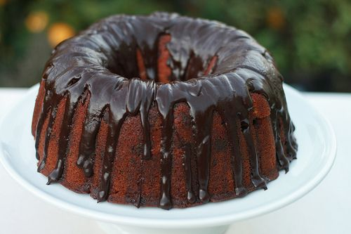 Barefoot Contessa's Blood Orange Chocolate Chunk Bundt Cake
