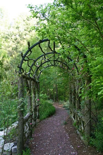 Rustic trellis Favorite Places Spaces Pinterest