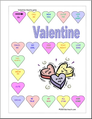 valentine's day games for preschoolers