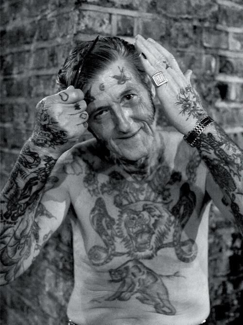 and people say tattoos get ugly as you age....i think not!