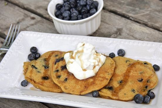 Blueberry Cheesecake Pancakes | The Best Way to Start the Day | Pinte ...
