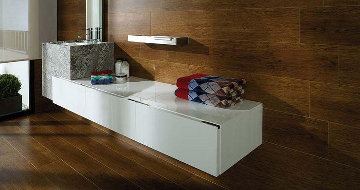 Muebles Baño Blanco Brillo:Contemporary Bathroom Design