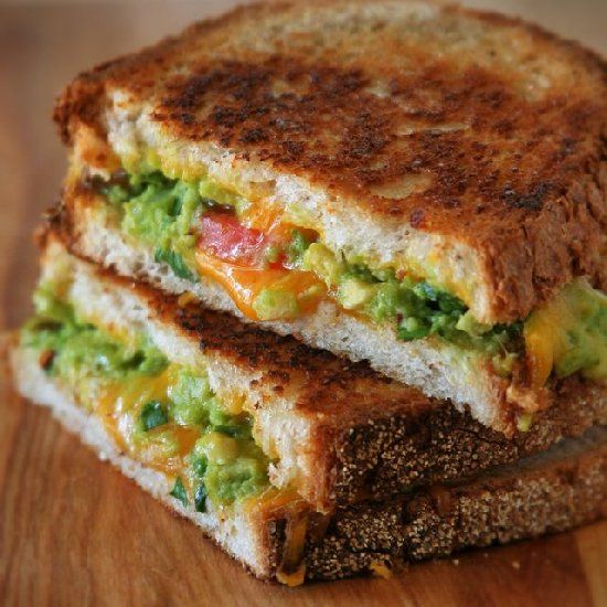 Guacamole Grilled Cheese Sandwich | Favorite Places & Spaces | Pinter ...
