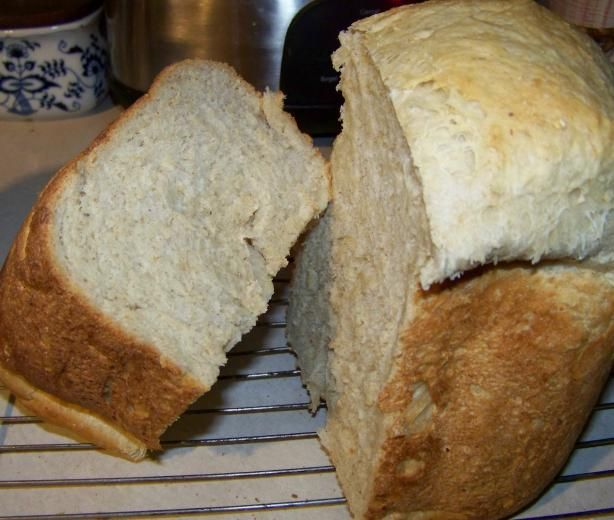 Honey Oatmeal Bread--(Bread Machine) | Recipe