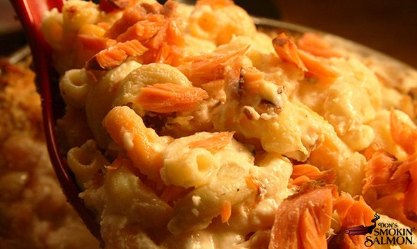 Smoked Salmon Mac and Cheese Recipe | Don's Smokin' Salmon®