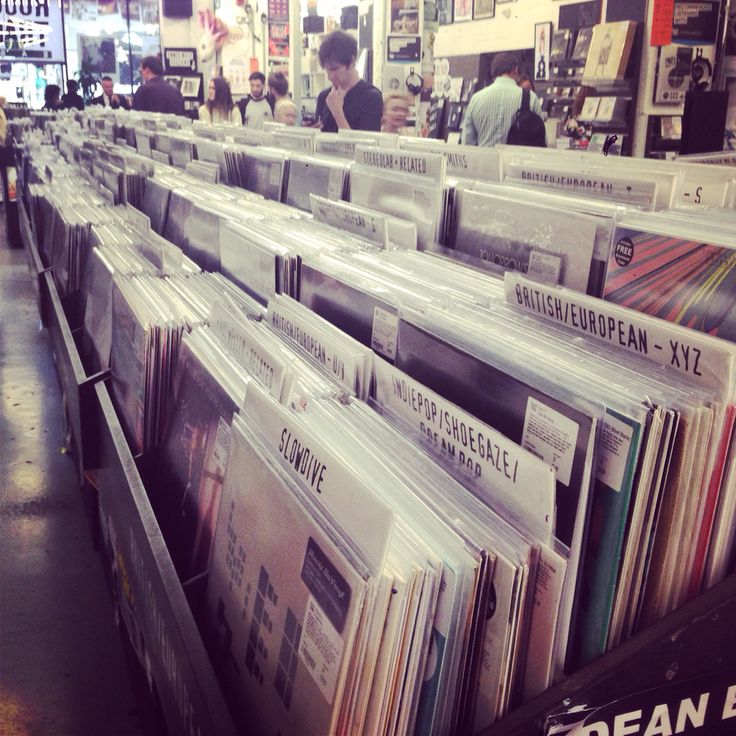 Rough Trade records, Bricklane, Shoreditch, London