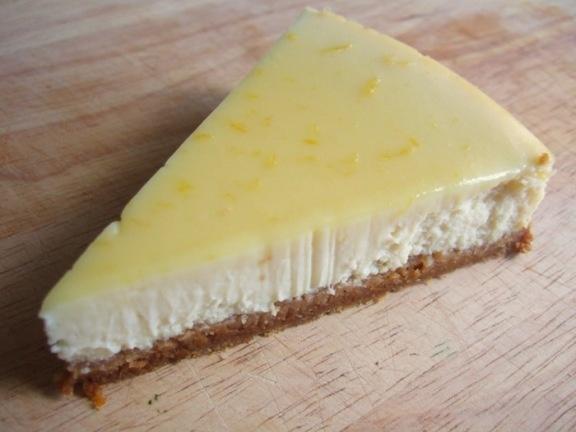 lemon ginger cheesecake | Favorite Recipes | Pinterest