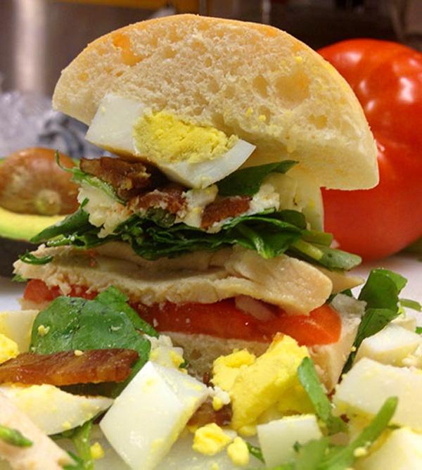 The Cobb salad sandwich | Food I Love | Pinterest