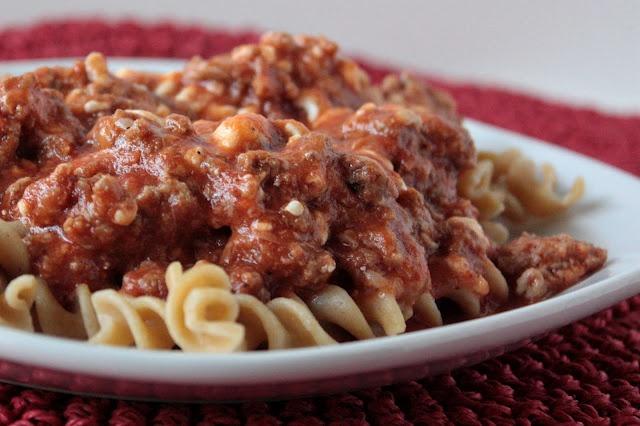 Stovetop Rotini Lasagna | Recipes | Pinterest
