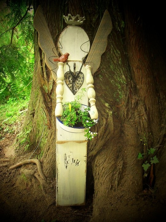 Garden Angel Grounded By Gardening Pinterest