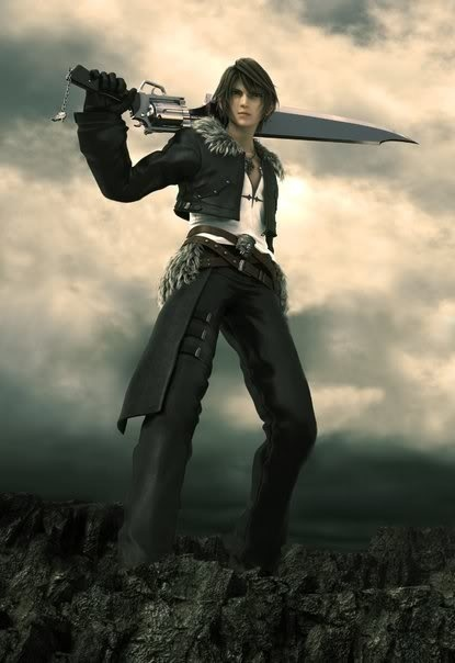 squall leonhart how tall