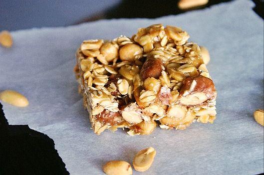 Homemade Nutty Oatmeal Bars | Bars | Pinterest