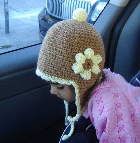 Crochet Earflap Hat : crochet hats
