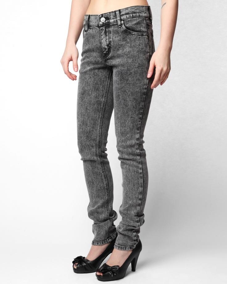 Cheap Monday Women's Original Tight Jeans - Black Ice: pinterest.com/pin/18507048440135863