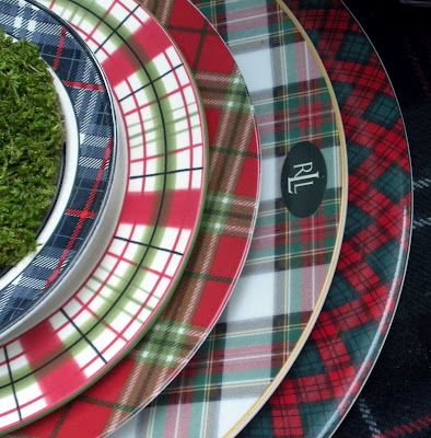Got to have!    Here's how the tartan stacks up.  Arita Tartan Charger  Lauren Ralph Lauren Skyler  Target Holiday 2010 Classic Tidings  Global Design Connection by Kate Williams  Home Beautiful Stoneware in Royal Stewart
