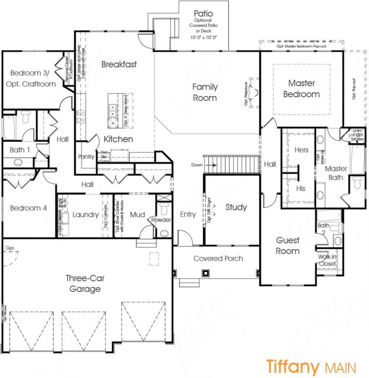 Tiffany Utah Floor Plan Edge Homes Just For My Home