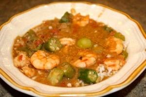 Granny's Shrimp and Okra Gumbo | recipes | Pinterest
