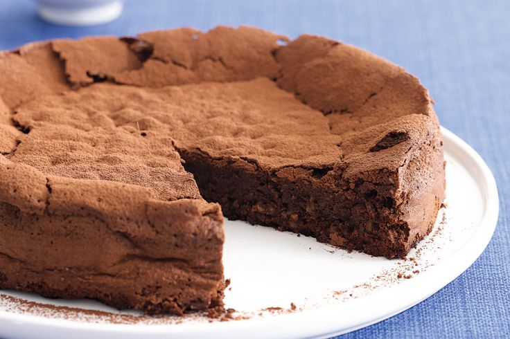 Flourless Chocolate Cake. This is the yummiest and easiest cake ...
