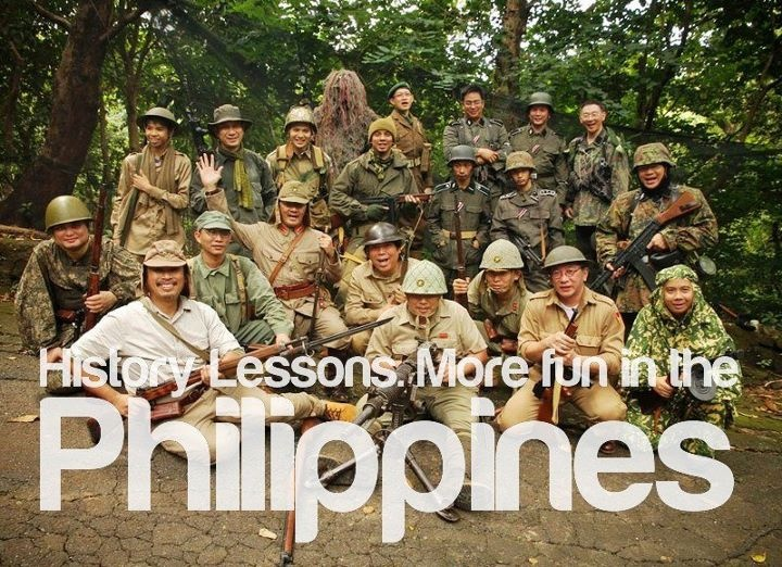 HISTORY LESSONS. More FUN in the Philippines!