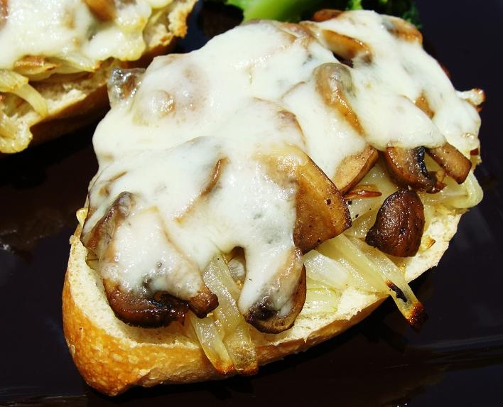 Meatless Monday…Caramelized Onions, Mushroom and Swiss Tartine ...