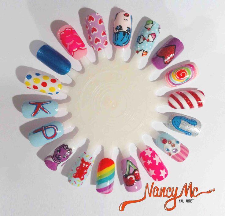 Nancy Mc Nail Wheel | Nail Art | Pinterest
