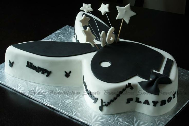 Playboy Cake Design : Playboy birthday cake Cake Decorating Pinterest