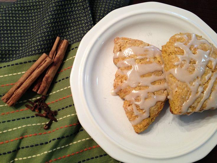 Pumpkin Scones #pumpkin #TexanNewYorker #baking