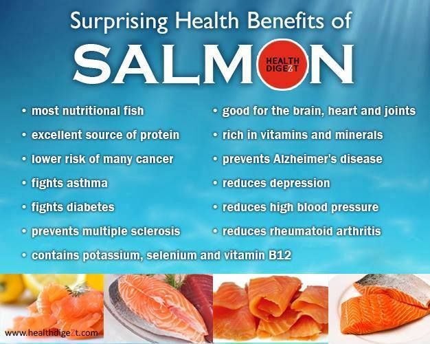 Best health benefits of eating fish