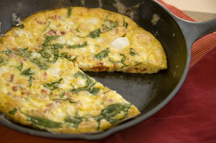 frittata egg white frittata with shrimp tomato and spinach recipes egg ...