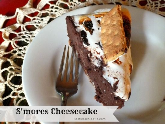 mores Cheesecake Recipe - Restless Chipotle