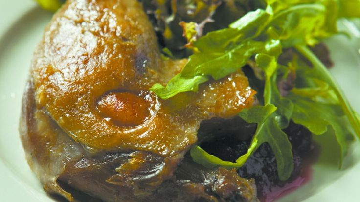 Confit—slow-roasted duck stored in its own fat—is an ancient way ...