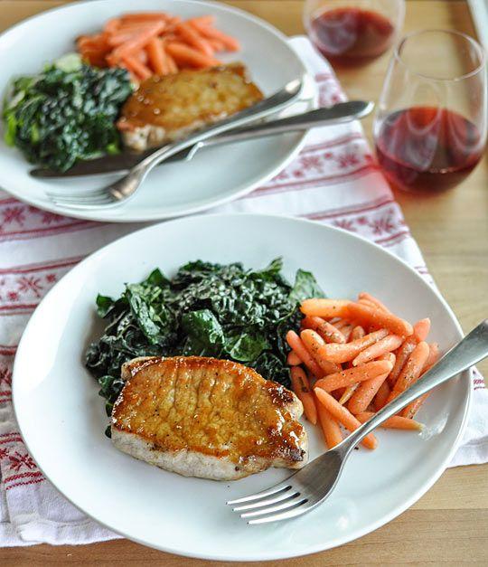 ... jpg dinner for two sage brined pork chops with brown sugar glaze