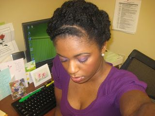 ... by Alexis Sixela on Professional/ Cooperate Natural hairstyles