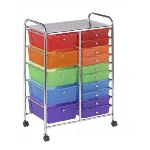 Kids Organizer Storage Furniture Playroom Bedroom Portable