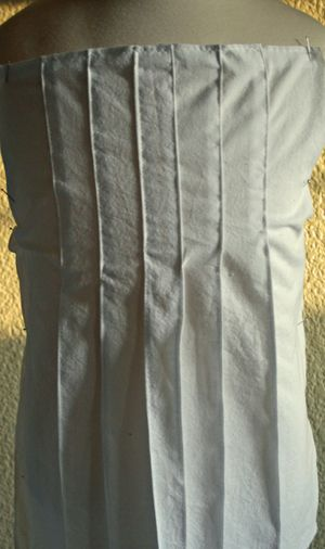 how to make a pleat