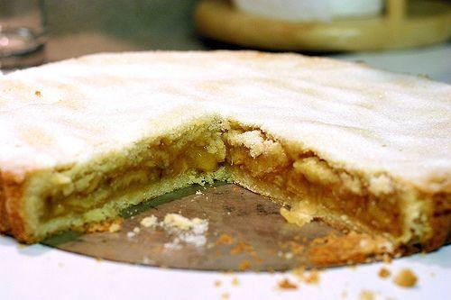 Lemon Confit Shortbread Tart
