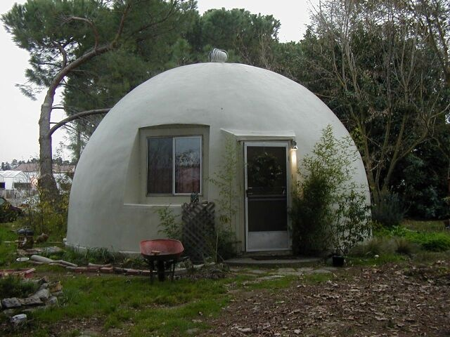 Very Cute Dome House Tiny Homes Pinterest